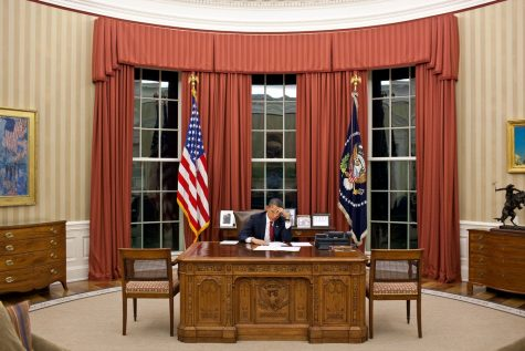 Trump And Obama Meet At The White House