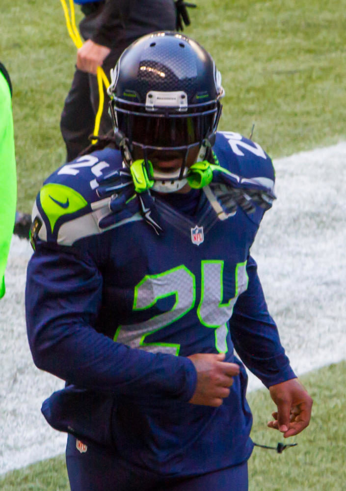 Marshawn+Lynch+played+for+the+Seattle+Seahawks+from+2010+to+2015.