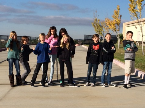 Middle School Actors On Campus