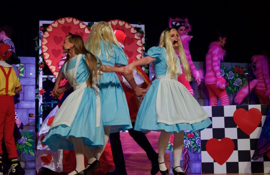 Alice In Wonderland Jr Play The Day Creek Howl