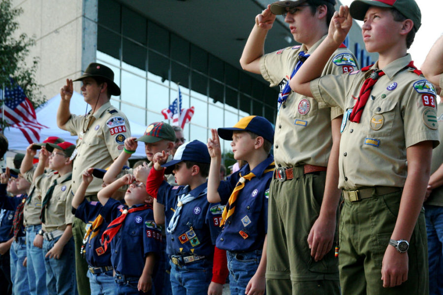Boy+Scouts+of+America+announced+that+they+will+be+accepting+girls+into+their+program.