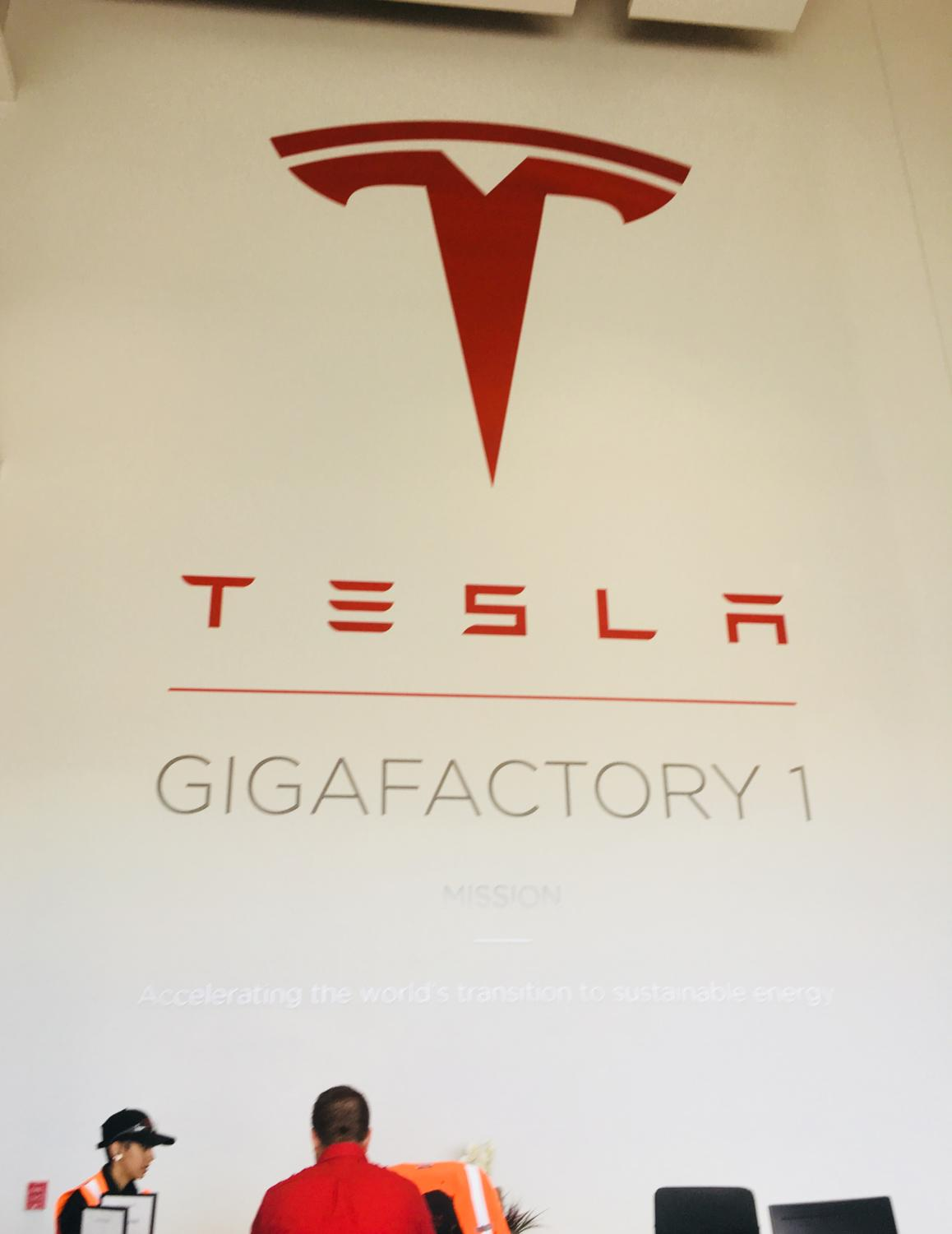 At my visit to the Tesla Gigafactory, I met a few of the many women engineers who worked there.