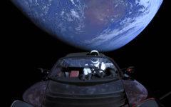 Elon Musk Straps Tesla Roadster Onto Rocket