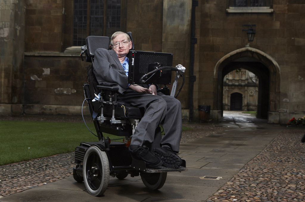 Stephen Hawking was arguably the smartest physicist of all time.