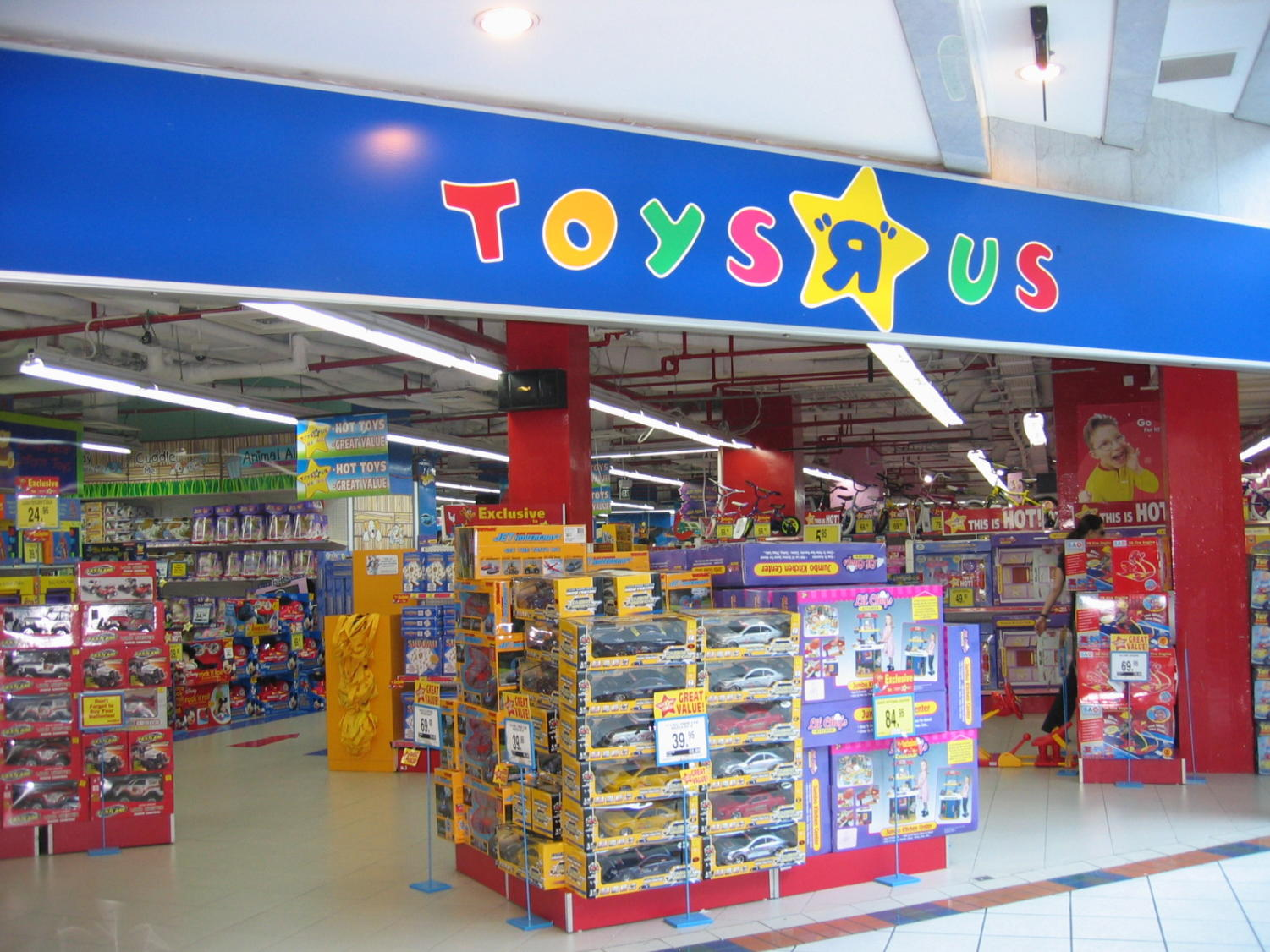 Toys 'R' Us is closing down.