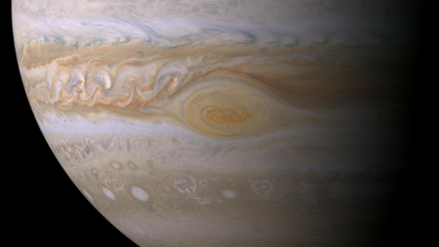 Jupiter's Great Red Spot could potentially disappear in the next 10 to 20 years.