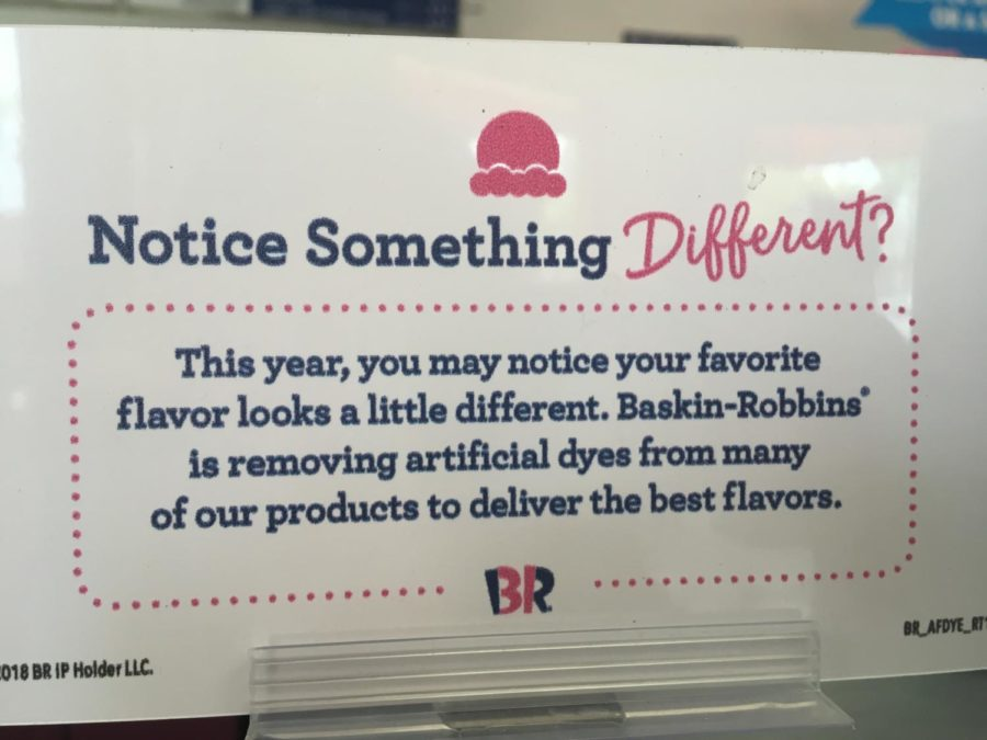 New changes come to Baskin Robbins.