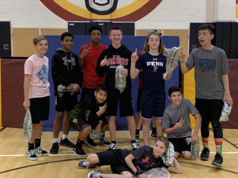 8th Grade Survivor Ball Tournament