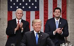 President Donald Trump's 2019 State of The Union Address