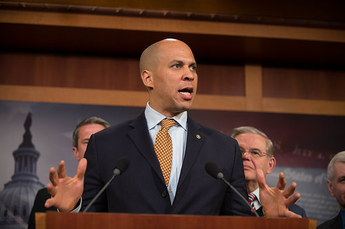 Corey Booker plans to be the second African-American president in 2020.
