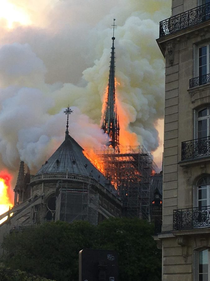 One+of+the+most+famous+sites+in+Europe%2C+the+Notre+Dame%2C+caught+on+fire+on+April+15th.+
