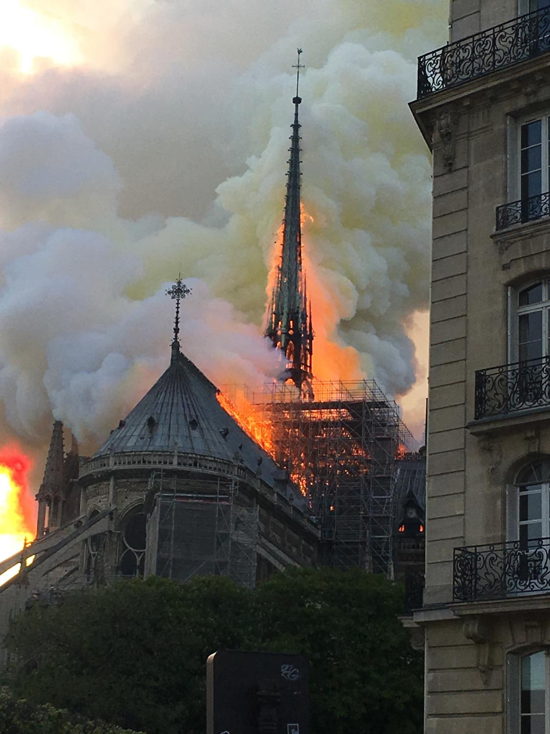 One of the most famous sites in Europe, the Notre Dame, caught on fire on April 15th.
