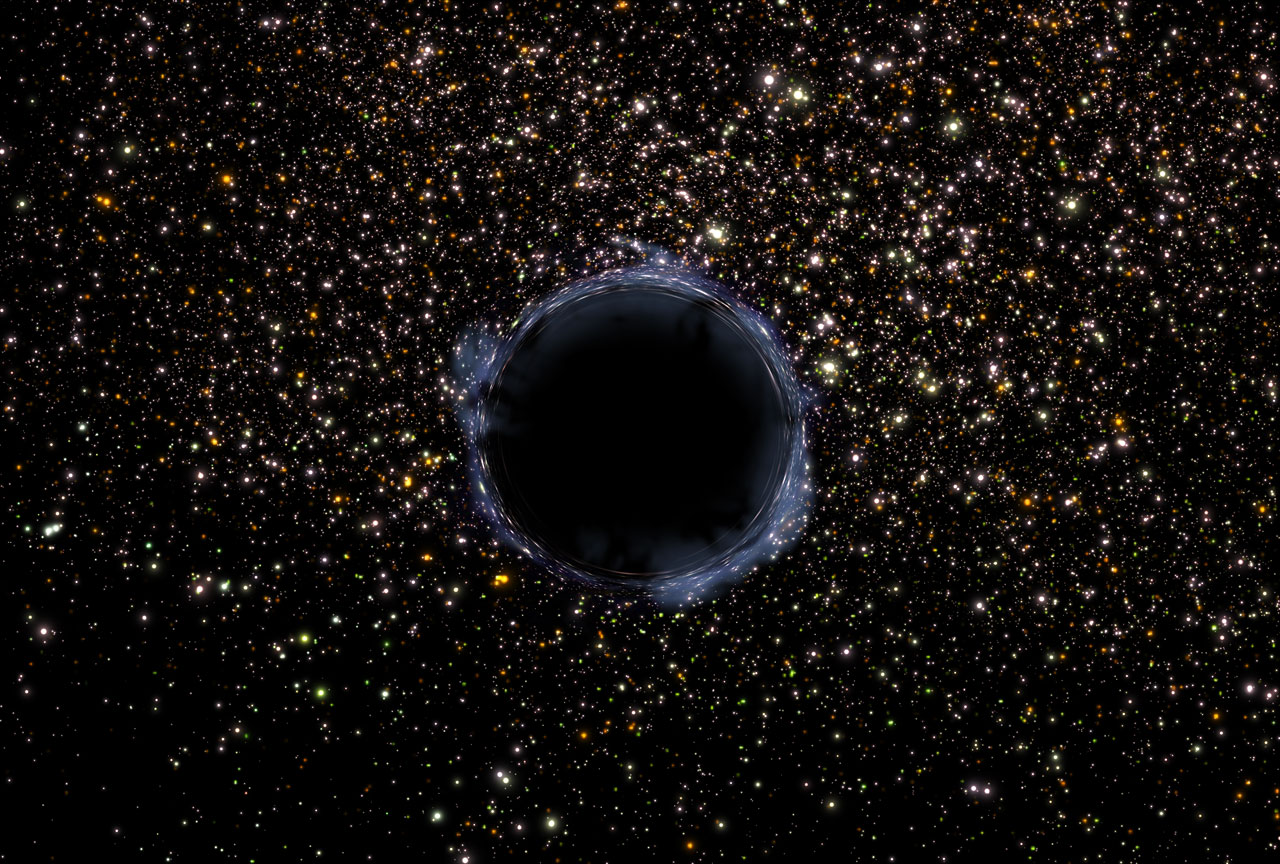 The first pictures of a black hole will be revealed on Wednesday, April 10.