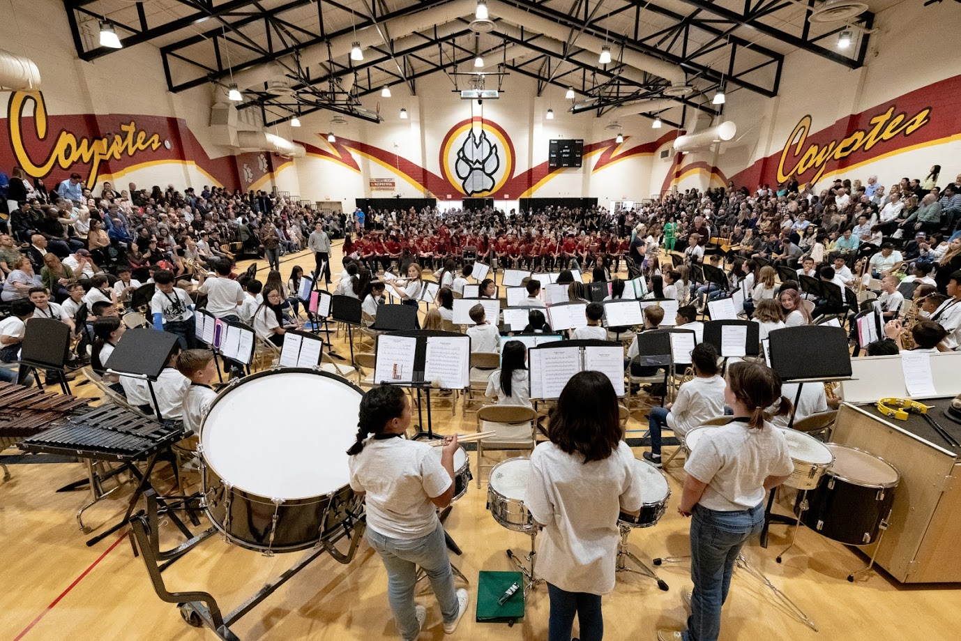 5th+Grade+Band+performs+at+the+2019+Spring+Band+Concert.