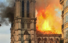 Aftermath of Notre Dame Fire