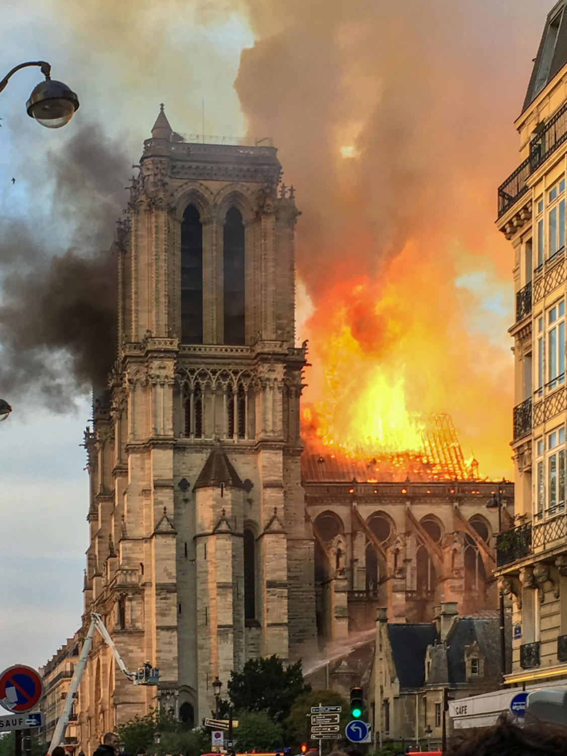 After a fire, that raged for at least 12 hours, occurred at the Notre Dame cathedral on April 15.