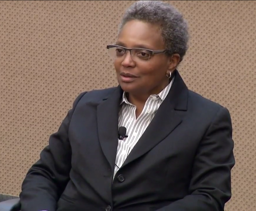 Lori+Lightfoot+becomes+the+first+African-American+woman+to+become+a+mayor+of+Chicago.+