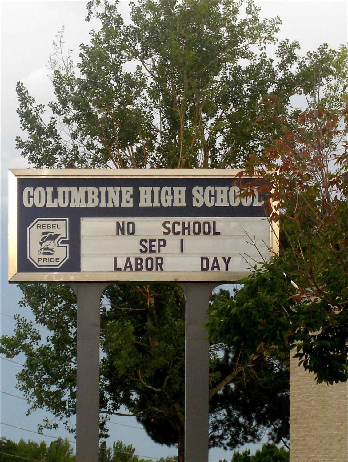 Denver area Stem school, where shooting occurred, is not too far from Columbine High.