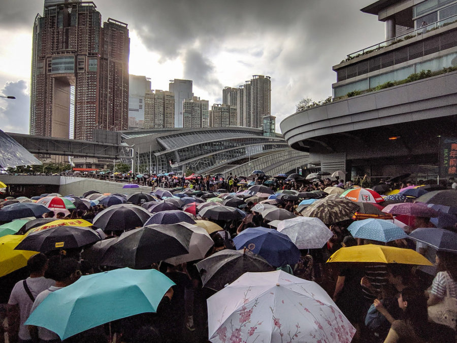 Hong Kong protesters are marching in dissent of the extradition bill recently passed.