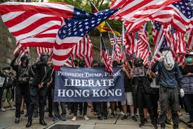 Hong Kong protesters are marching day and night for freedom.
