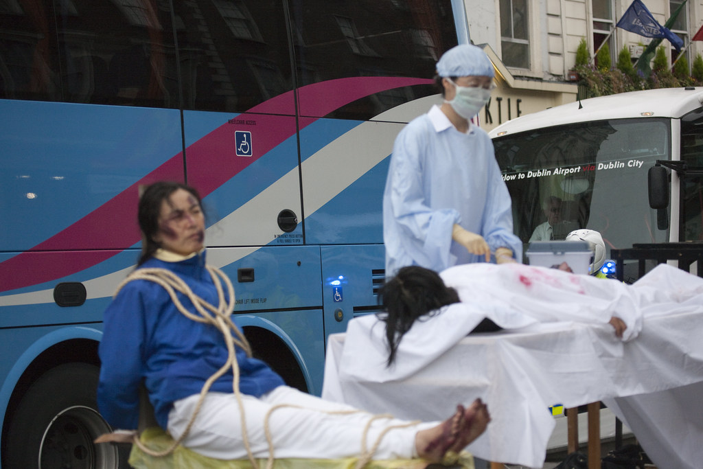 China forcefully harvests organs from Falun Gong practioners and Detainees