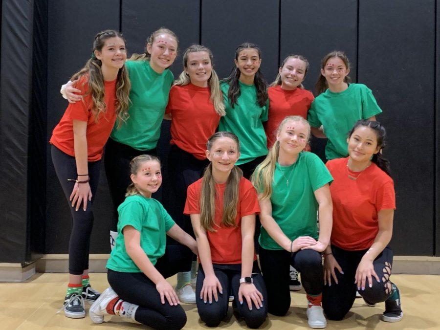 The 8th Grade Girls Tournament Winners.