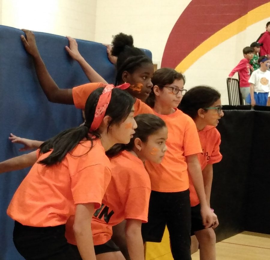 For the first time, 6th graders experienced the annual Survivor Ball tournament.