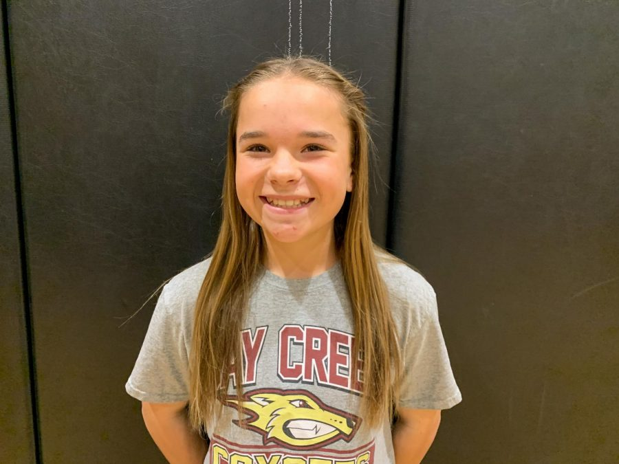 Students of Day Creek: Makenna E.