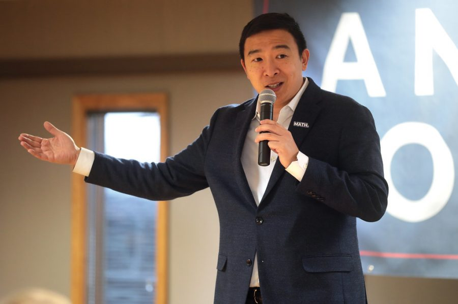 Andrew Yang has dropped out of the presidential campaign