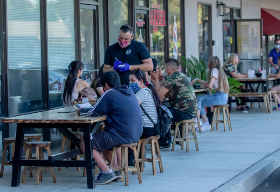Outdoor dining, in-person gatherings, hair and nail salons, barbershops, and much more are beginning to open once again.