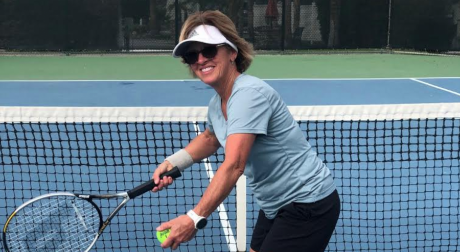 Ms. Rose competes in pickleball, but tennis is something that she has recently learned.